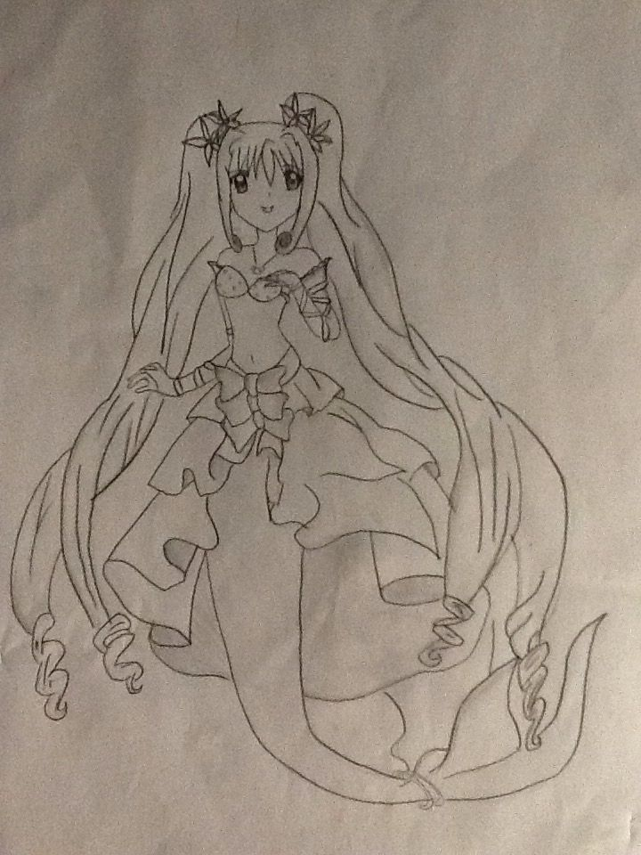 Luchia is the main protagonist of the anime series mermaid melody.