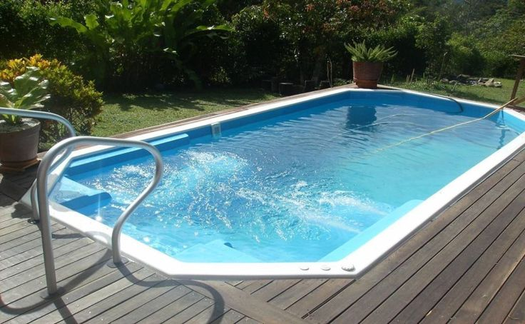 Exterior best fiberglass pool kits diy fiberglass pools
