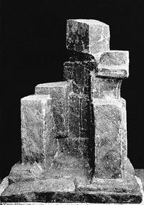 Fritz Wotruba ,Grosse sitzende Figur 1959 Bronze 100 x 70 x 49,5 cm
