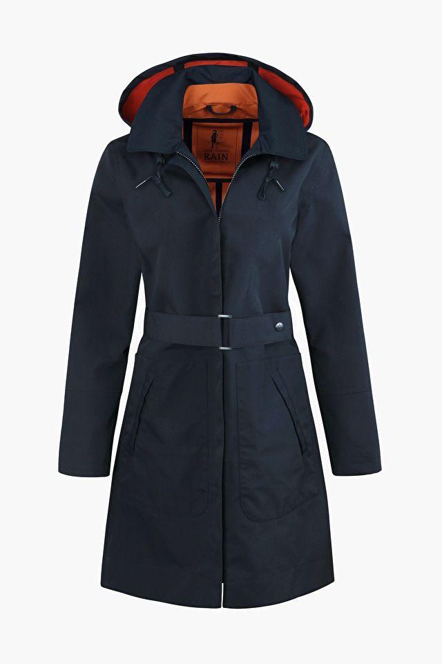 True North Mac | Long waterproof raincoat | Seasalt