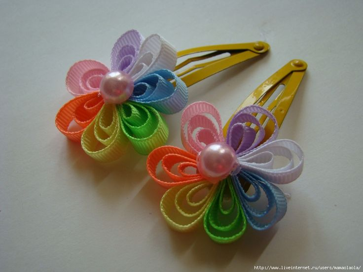 Try quilling on a barrette?