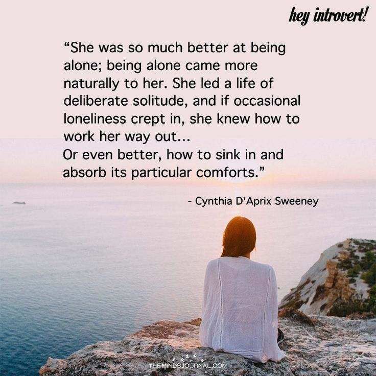 She Was So Much Better A Being Alone - https://themindsjournal.com/much-better-alone-2/