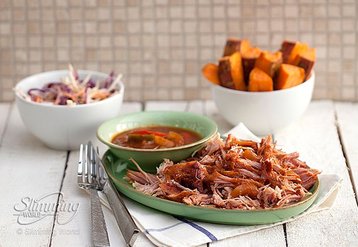 Love pulled pork? Then you'll love this Syn-free slow-cooked bbq gammon recipe. http://www.slimmingworld.co.uk/recipes/bbq-pulled-gammon.aspx
