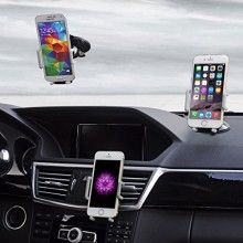 Best Car Phone Holder, Golden Colours Super 3 in 1 Universal Cell Phone Car Cradle