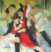 Tango Sentimental  by Donna Costras
