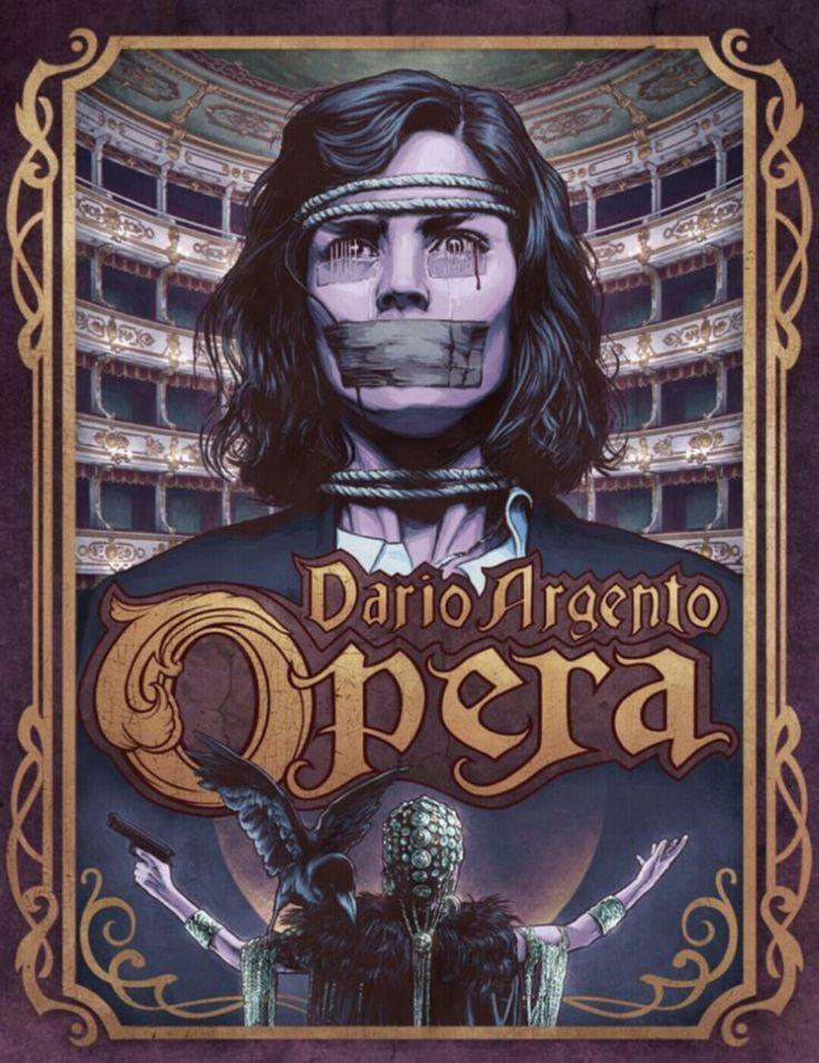 Opera 1987 by Dario Argento Horror Movie Gallo