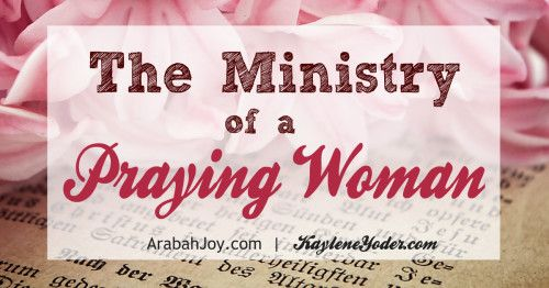 """""""The War Room"""" movie has ignited a desire in many women to pray like never before! It is true that the praying woman has a powerful ministry...one unlike any other. Click to see how you can start your own prayer ministry."""