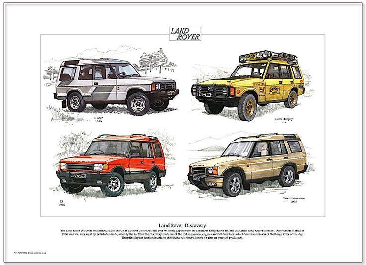 Land Rover Discovery, um ícone do universo 4×4  Apresentado pela primeira vez ao mundo em 1989, o Discovery – robusto veículo utilitário esportivo (SUV) com capacidade para transportar até sete adultos – foi desenvolvido pela Land Rover como uma opção entre o valente Defender e o luxuoso Range Rover.   Imediatamente, o modelo […]