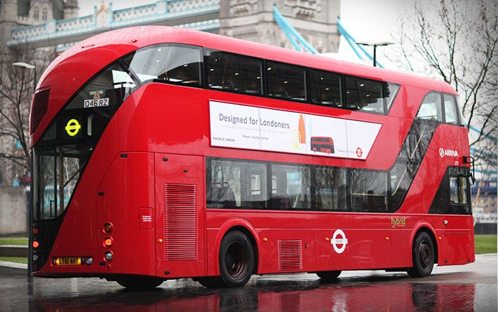 New Routemaster - offside view