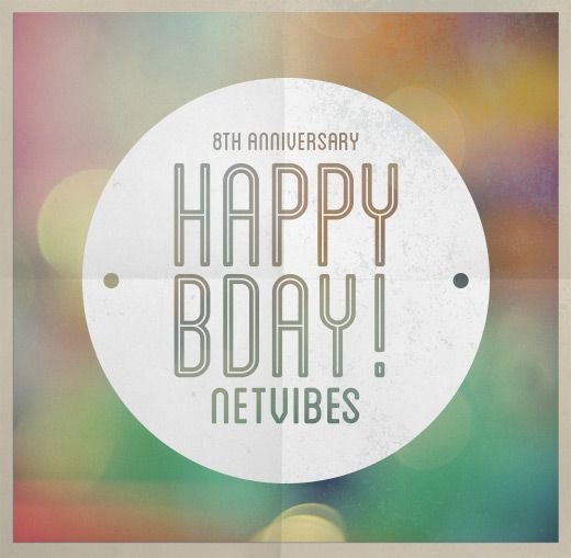 happybday NETVIBES !