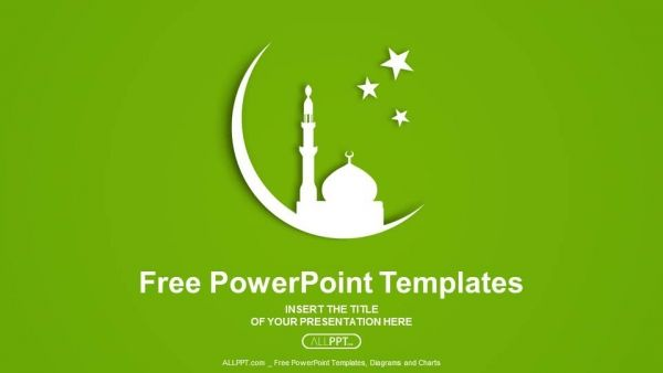 Free Mosque Silhouette Concept Powerpoint Template Islam Is One Of The Oldest And Most Prominen Powerpoint Templates Powerpoint Powerpoint Presentation Design
