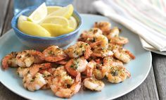 This prawns recipe is an easy and delicious starter, cooked in garlic it's packed full of flavour!