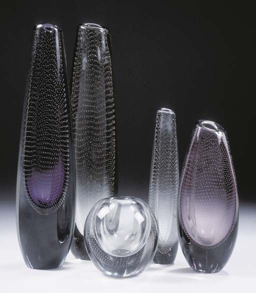 ✔ Gunnel Nyman Art Glass just ❤them!