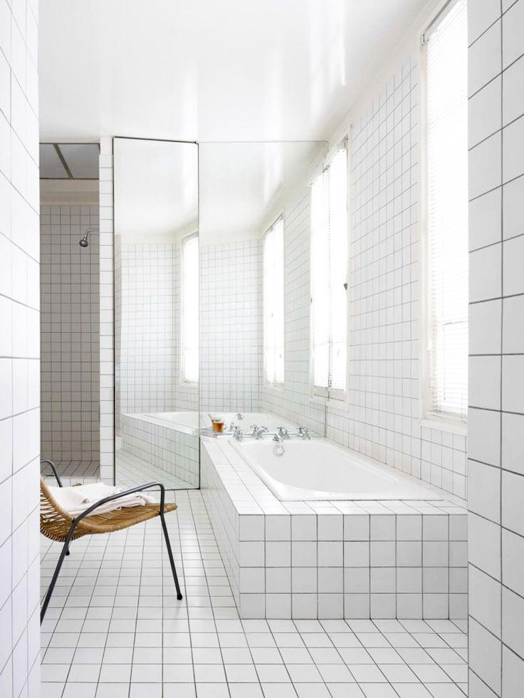 White tiles.  SEES / seesbysanni.blogspot.fi