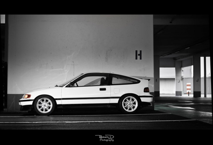 Honda CRX - simple and clean