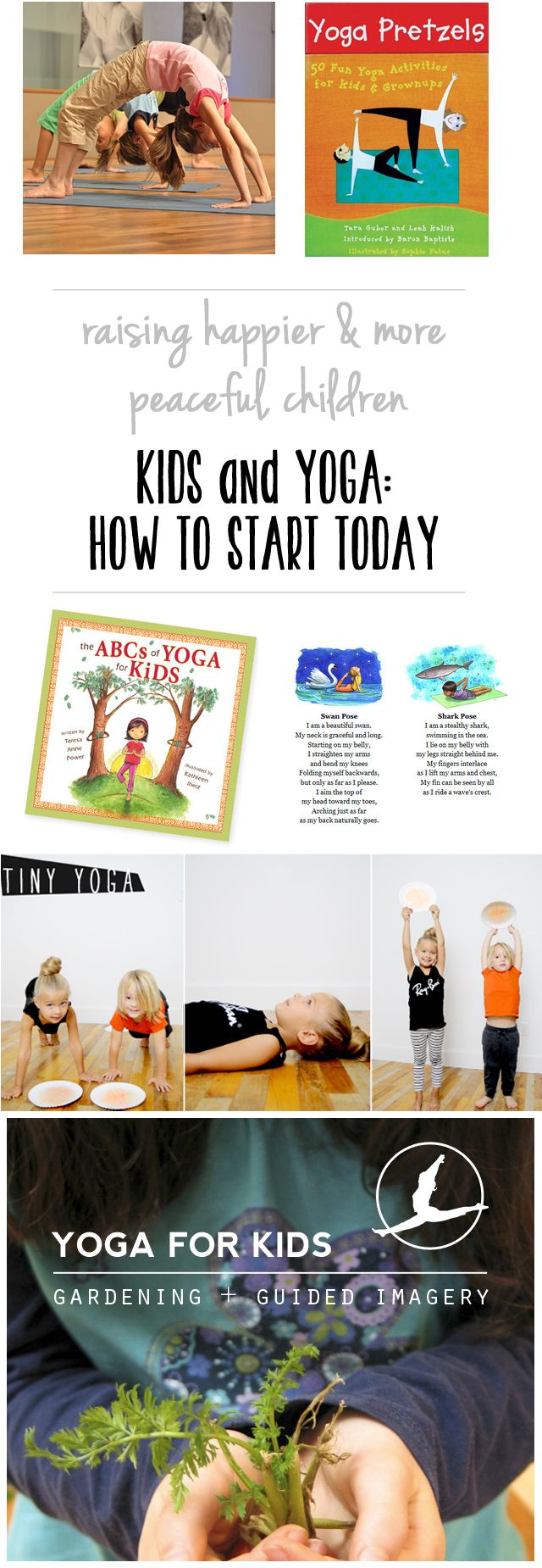 "Have your littles ever tried yoga?  Kid yoga seems to be the trend these days and, I must admit, I've completely hopped on board.  By the time S was 2, ""namaste"" was a regular part of her vernacular. Now before you go thinking I've gotten all hippy-dippy on you, just know that I'm a girl …"
