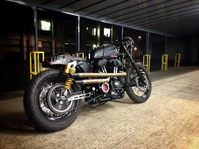 ϟ Hell Kustom ϟ: Harley Davidson Sportster By RB Kustoms