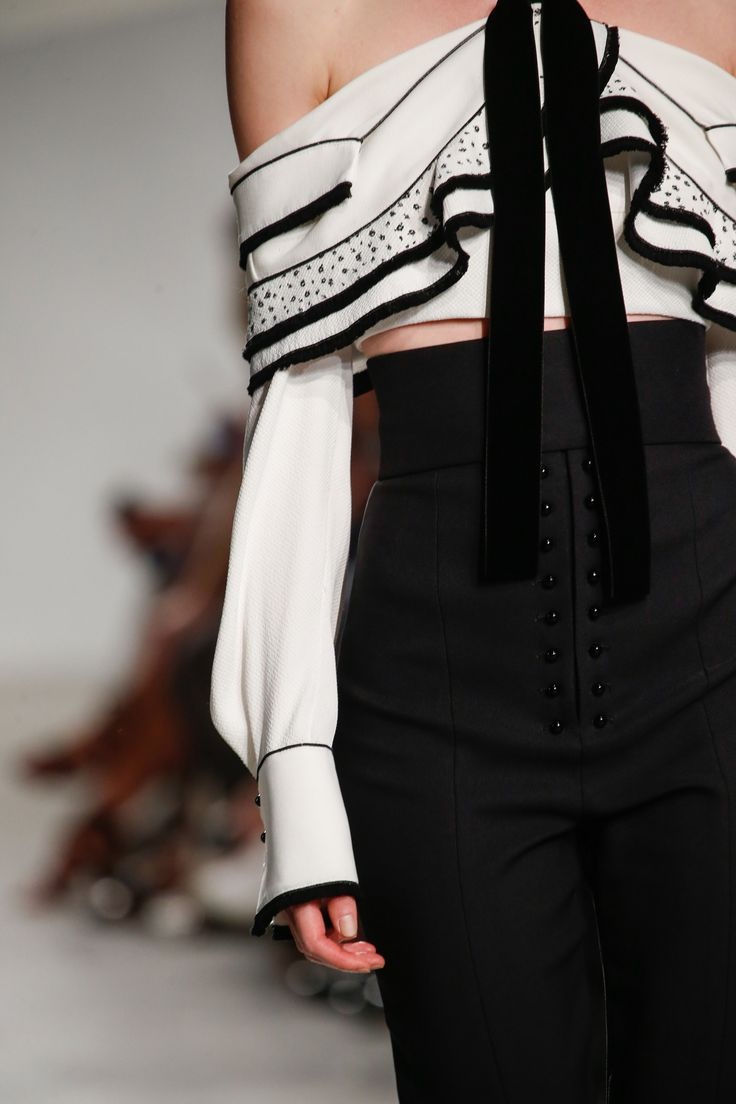 Proenza Schouler black and white.