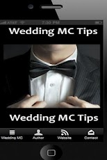 #WeddingMC - Click Graphic Above for Your FREE Wedding MC App For Android Smartphones. Tips and advice for the Wedding MC including the Order of #WeddingSpeeches and #WeddingToasts.    https://play.google.com/store/apps/details?id=com.appbuilder.u42786p150938