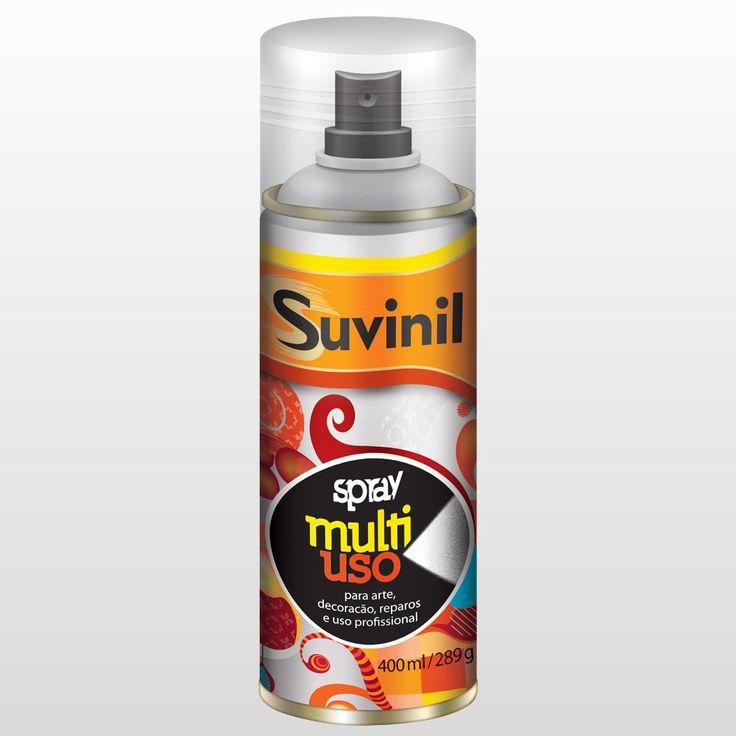 Spray Multiuso Fosco Suvinil Verniz 400ml - CasaShow
