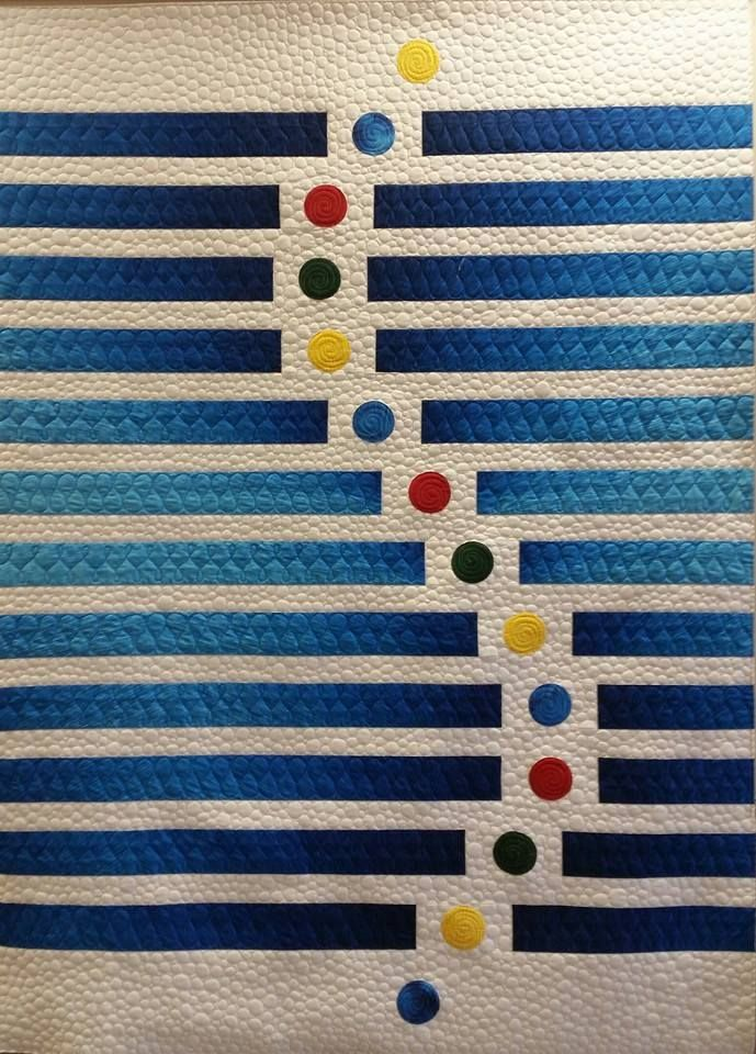 This quilt should be credited to Lisa Sipes' mother. The link here leads to…