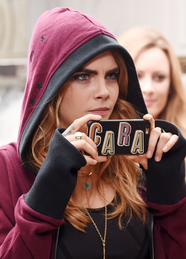 Cara Delevingne launches her DKNY Collection at Harvey Nichols
