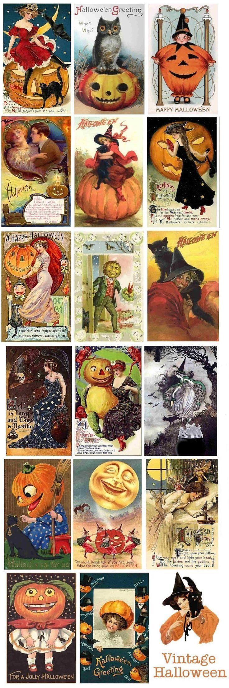 313 besten Vintage Halloween Decorating & Retro Theme Party Ideas ...