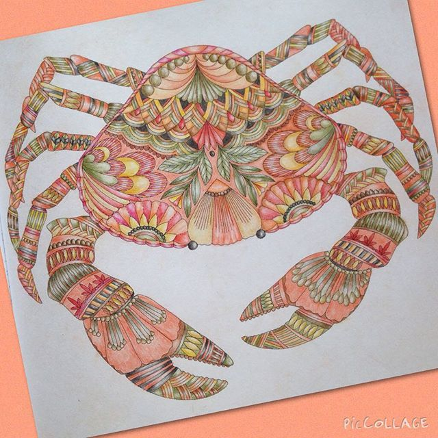 Millie Marotta Crab Coloring TipsAdult ColoringColouringColoring BooksSearch