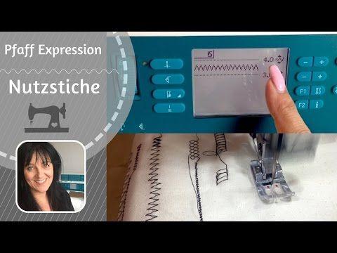 Pfaff Expression - Reinigung der Nähmaschine - YouTube
