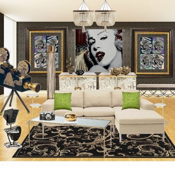 old hollywood living room 1000 images about salon decor amp ideas on 16276