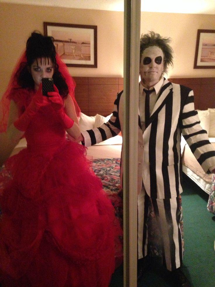 Beetlejuice & Lydia costumes