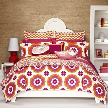 happy chic by jonathan adler katie duvet cover set accessories jcpenney sam 39 s room kids. Black Bedroom Furniture Sets. Home Design Ideas