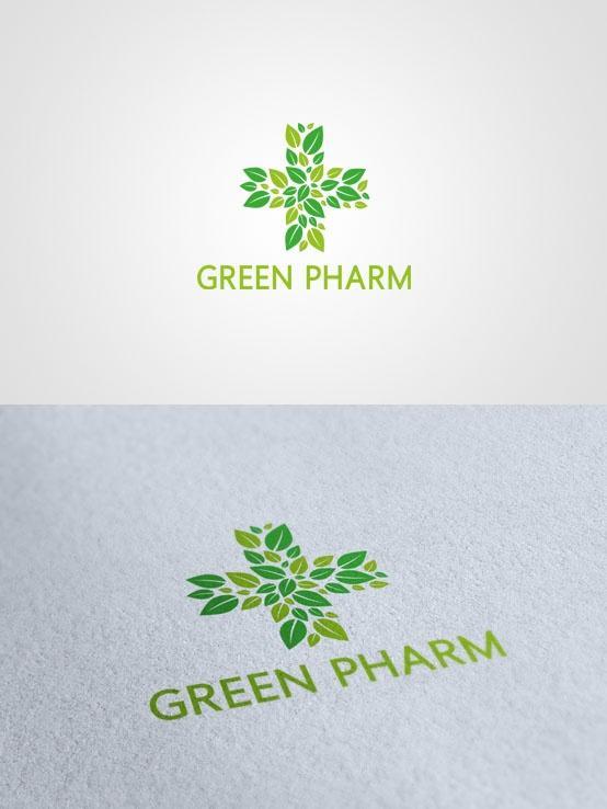 Green pharm #logo #design $500