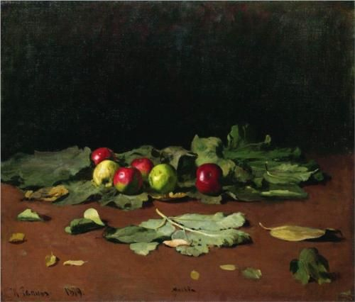 Apples and Leaves - Ilya Repin