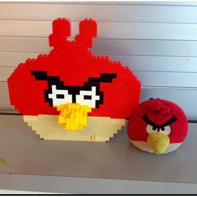 Angry bird Lego
