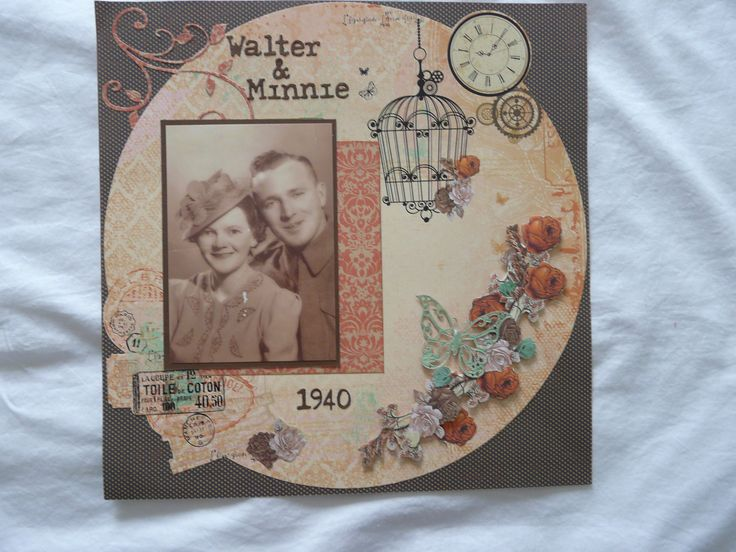 My uncle Walter and his wife Minnie