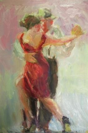 Latin Dance: Dance Posters, Paintings Latin, Figures Portraits, Dance Bail, Dance Paintings, Artists Connie, Dance Inspiration, Latin Dance, Tango Forever