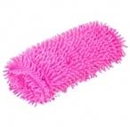Fuzzy Shaggy Hot Pink Seat Belt Shoulder Pad