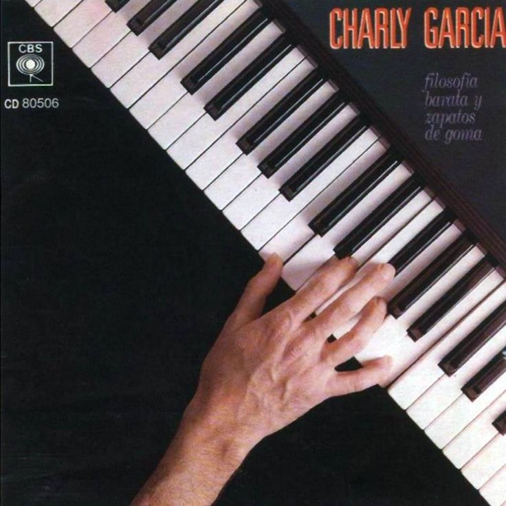 """Kuropatwa picture in Argentine rock star Charly García, """"Cheap Philosophy and Rubber Shoes"""" (1990)"""