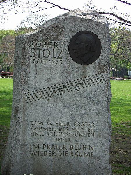 Robert Stolz Memorial at the Wiener Prater