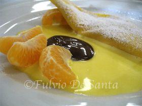 Crepes al mandarino
