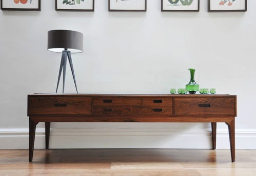 Severin Hansen Danish Rosewood Sideboard. Vintage Retro 50's 60's console table | eBay