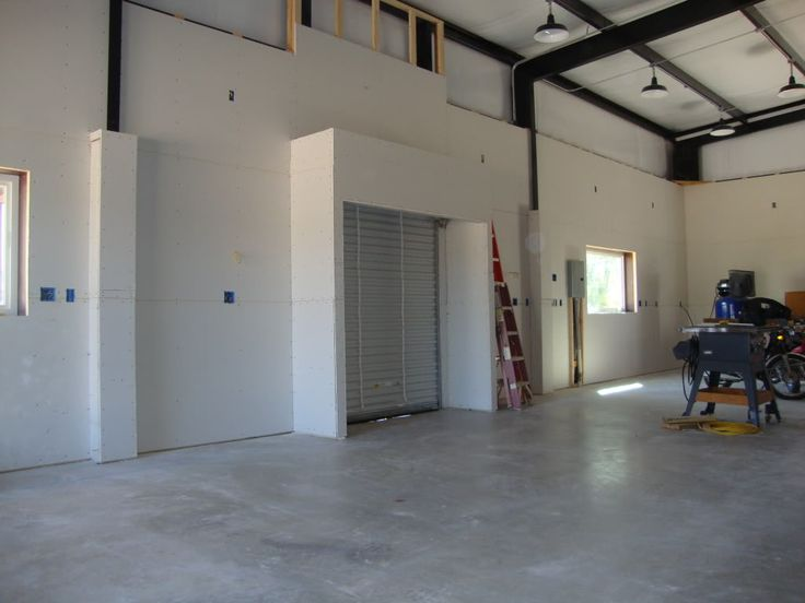 Building Metal Finishes : Finishing a metal building interior what works and