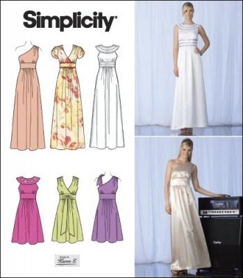 64 best Wedding dress patterns images on Pinterest | Sewing patterns ...