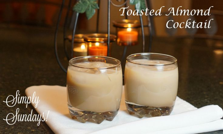 Toasted Almond Cocktail.  Get your Koselig on!