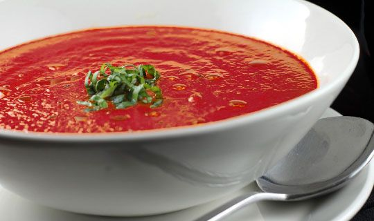 Recipe: Roasted Red Pepper Soup