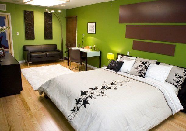 dipingere parete camera da letto : Dipingere Pareti Camera Da Letto su Pinterest Grande Arte, Stanze Da ...