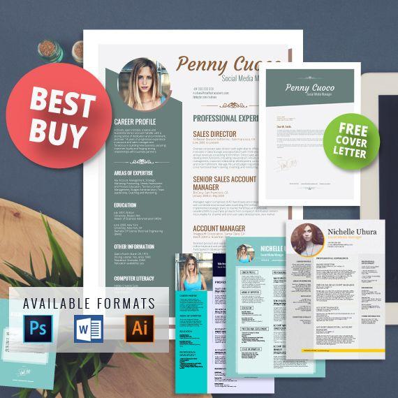 25+ unique Free cover letter templates ideas on Pinterest Resume - free profile templates