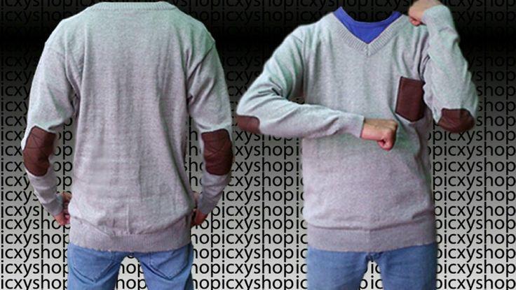 sweater rajut elbow
