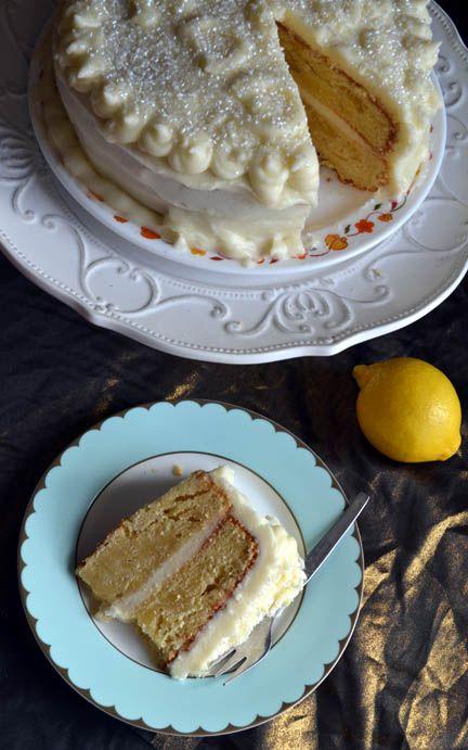 My take on the Lemon Velvet Cake I pinned here a while ago. #recipe #cake #baking